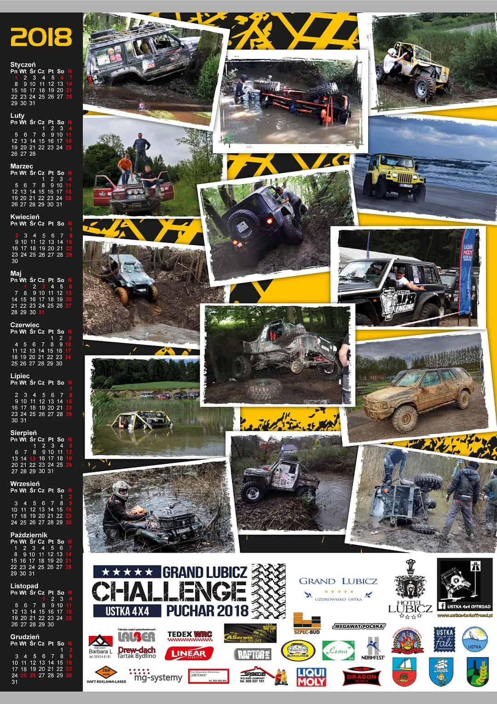 Kalendarz rajdowy z waszymi zdjęciami - rok 2018